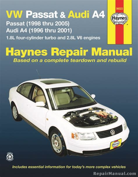 what is the best auto repair manual 2001 chrysler voyager electronic toll collection haynes vw passat 1998 2005 audi a4 1996 2001 auto repair manual