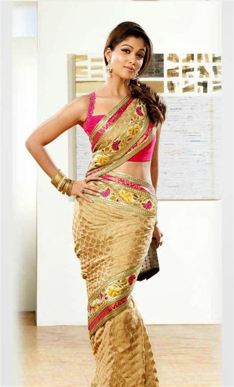 nayanthara hot saree navel actress nayanthara unseen cute hot exclusive saree navel
