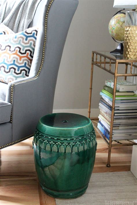 Garden Stool Decor How To Decorate The Secret Ingredient Every Room Needs The Inspired Room
