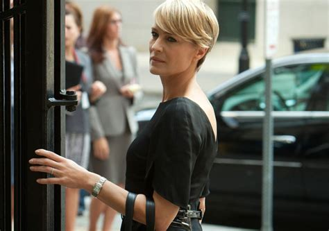 robin wright just before she cut her hair kristina s totally late and completely unreliable golden
