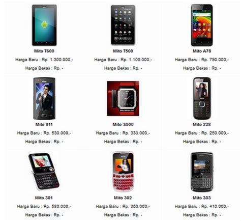 Tablet Mito Keluaran Terbaru harga mito terbaru bulan november hewarati