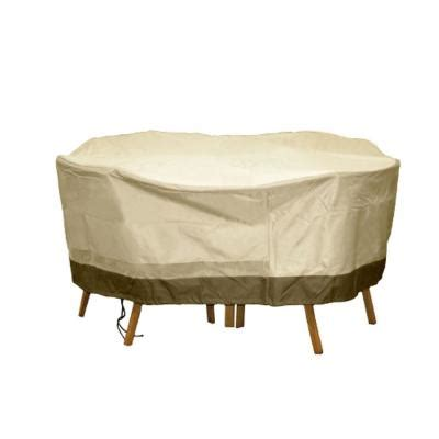 Home Depot Patio Table And Chairs Home Polyester Deluxe Patio Table And Chair Set Cover Sf40286 The Home Depot