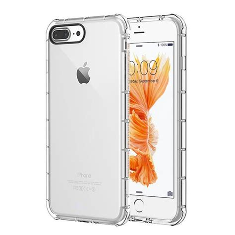 Tpu Apple Iphone 66s Modern Design Anti Shock Transparant slim 360 protection iphone w tempered glass modern accessory