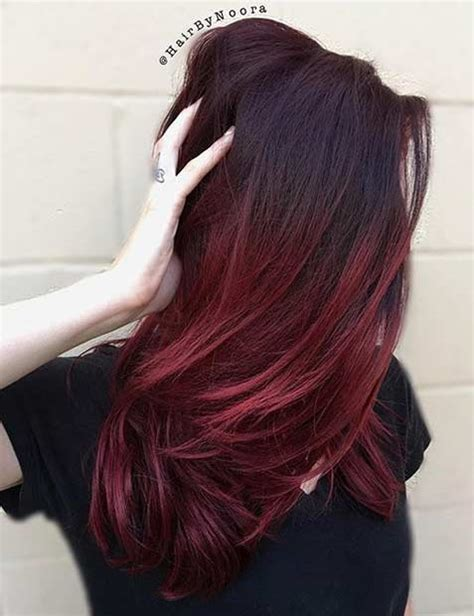 design roots instagram 21 amazing dark red hair color ideas page 2 of 2 stayglam