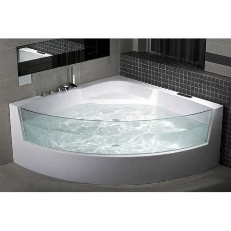 baignoire balneo filotti 150 150 cm baignoire design