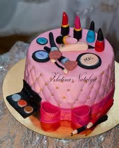 makeup birthday cake cake pinterest
