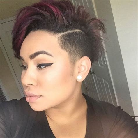 short shaved side hair styles for women with quick weave exceptional shaved hairstyles for women hairstyles 2017