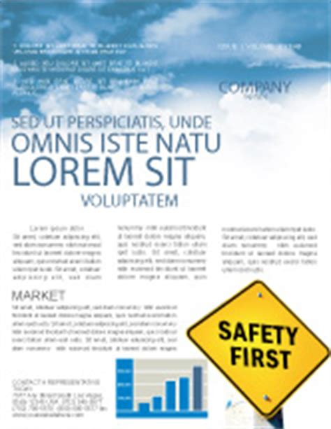 Safety Newsletter Templates In Microsoft Word Adobe Illustrator And Other Formats Download Safety Newsletter Template