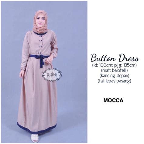 Baju Anak Dress Button by Atasan Baju Cewek Yosheviens Murah Wanita Baju