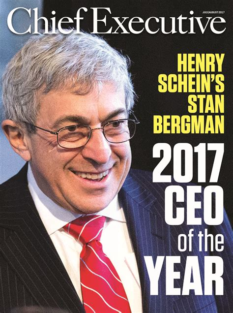 stanley ceo henry schein inc ceo stanley bergman named chief