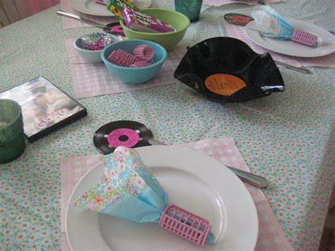 grease themed decorations cake ideas and designs - Grease Theme Decorations