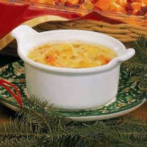 swiss topped cauliflower soup recipe taste of home