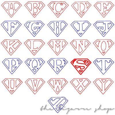 Superman Alphabet Template by Superman Alphabet Template Images Template Design Ideas