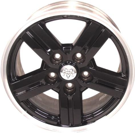 black dodge dakota rims dodge dakota wheels rims wheel stock oem replacement