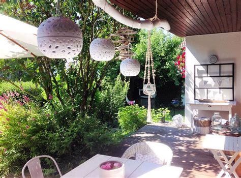 ideen für terrasse balkon idee beleuchtung