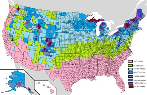 usa snowfall map weather willy s weather weather willy s official 2016
