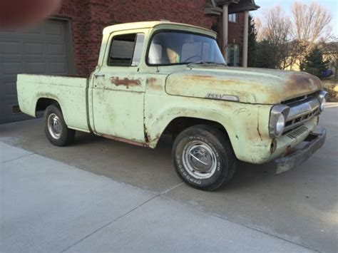 1957 ford truck for sale 1957 ford f100 box half ton truck swb