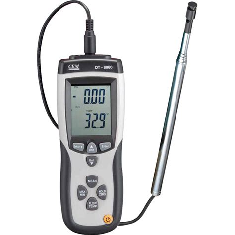 Thermo Anemometer atp wire usb logging thermo anemometer avm 8880