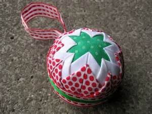 quick and easy no sew christmas ornament sewn up