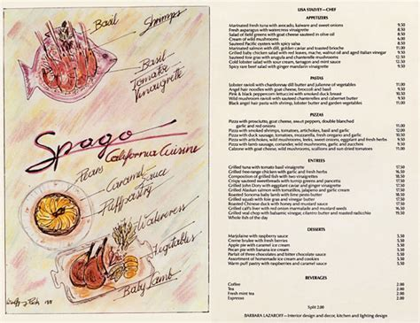 menu design los angeles vintage spotting restaurant menus from the 60 s and
