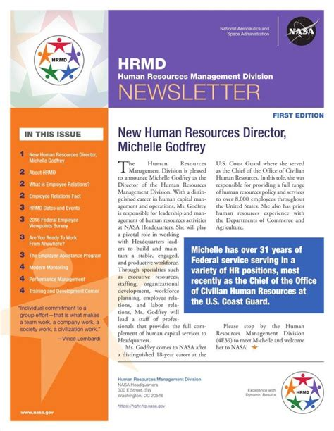 hr newsletter template employee newsletter template resume papers