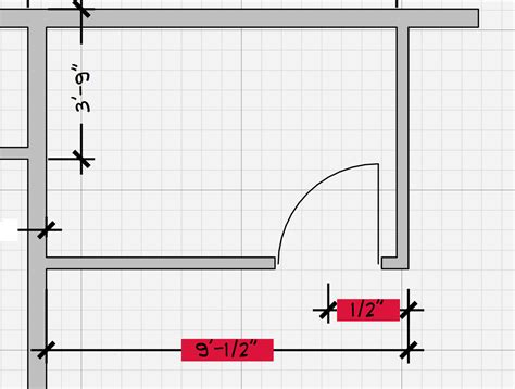 sketchup layout dimension snap dimensioning door openings layout sketchup community