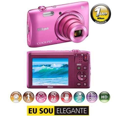 camara digital rosa c 226 mera digital nikon coolpix s3600 rosa 20 1mp zoom 8x