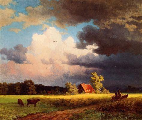 Landscape Artists Albert Bierstadt Bavarian Landscape Painting 50