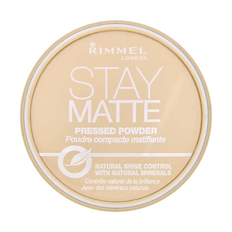 rimmel stay matte rimmel stay matte pressed powder 14g feelunique