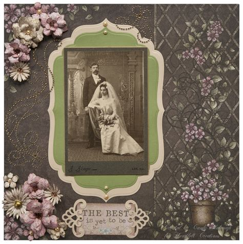 scrapbook layout vintage vintage wedding layout scrapbook com scrapbooking