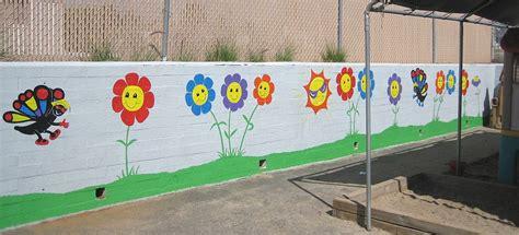 preschool wall murals aal signs plus artist at large