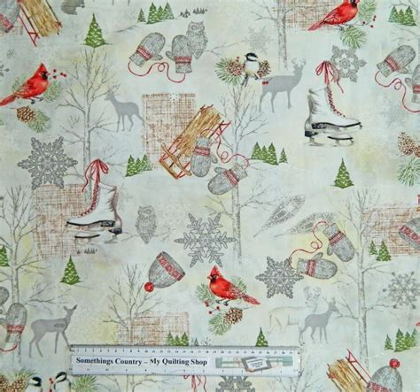 Patchwork And Quilting Fabrics - winter celebration patchwork quilting fabric