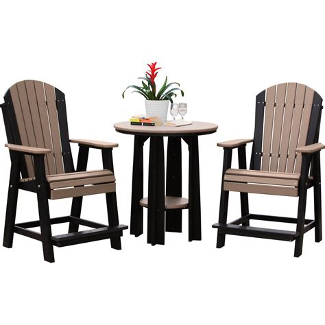 Luxcraft Furniture by Luxcraft Poly Balcony Table Set 183 Hostetler S Furniture