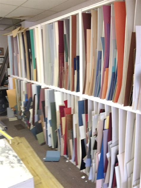 assorted picture frame mat boards  storage pre owned