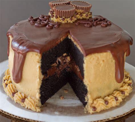 erdnussbutter kuchen secret ingredient chocolate peanut butter cake