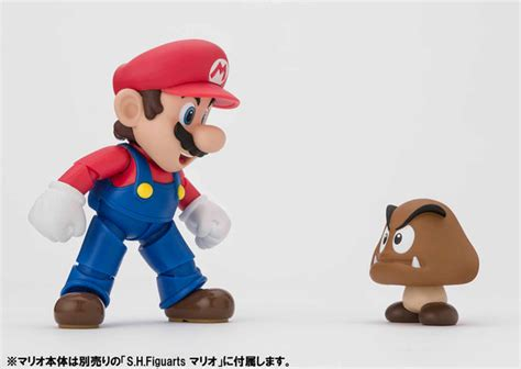 Shf Mario Gumba And Pipo Diorama Set B crunchyroll s h figuarts mario now available for preorder