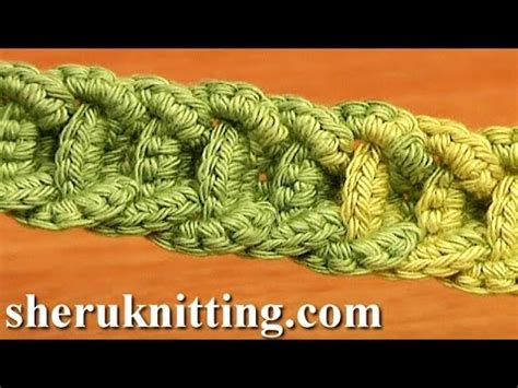 Braiding Cord Patterns - crochet braided cord tutorial 56 crochet belts necklaces