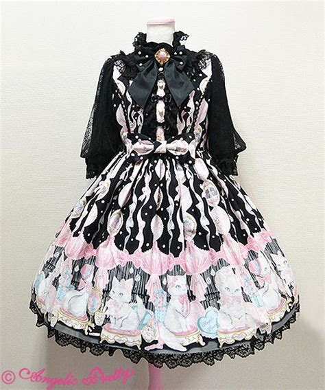 Angelic Black Cat dolly cat angelic pretty op in black girly