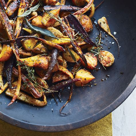 cooking light roasted root vegetables saut 233 ed yellow squash with fresh herbs recipe emily