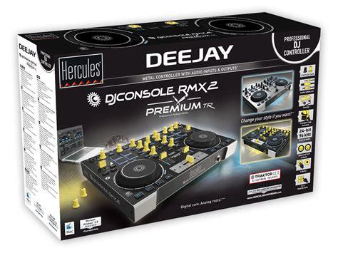 hercules dj console rmx 2 achat prix hercules dj console rmx 2 premium tr