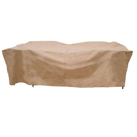 Patio Table And Chair Covers Rectangular Duck Covers Ultimate 127 In L Rectangle Oval Patio Table And Chair Set Cover Uto12784 The