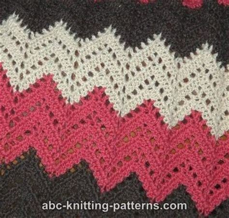 free pattern ripple afghan free ripple afghan crochet pattern crochet ideas and