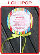 lollipop invitation template carnival invitation template carnival invitations