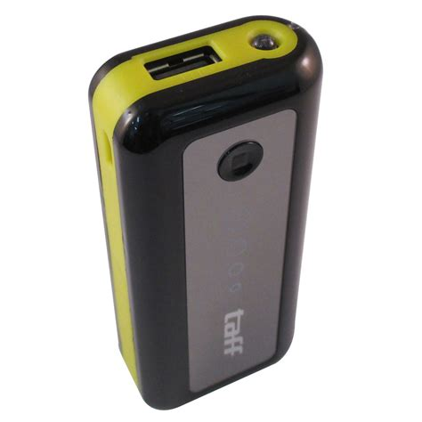 Taff Power Bank 5600mah Model Mp6 For Tablet And Smartphone taff power bank 5600mah model mp6 for tablet and smartphone black yellow jakartanotebook