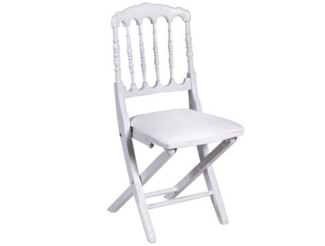 chaise napoleon blanche chaise napol 233 on blanche structura location de mat 233 riels