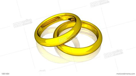 Wedding Rings Animation by Wedding Rings Gold Animation Stock Animation 1881484