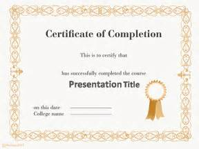 Certificate Template Powerpoint Free by Free Powerpoint Templates Themes Ppt