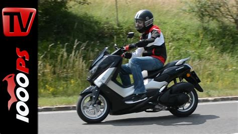 Motorrad Online 125 Test by Video 2015 Yamaha Nmax 125 Test