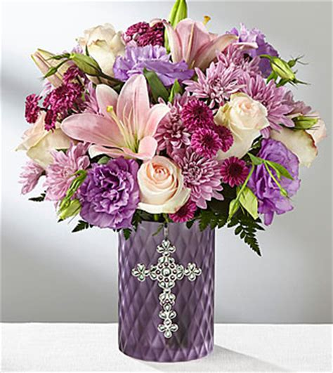 s gifts ftd god s gifts bouquet deluxe sympathy flowers