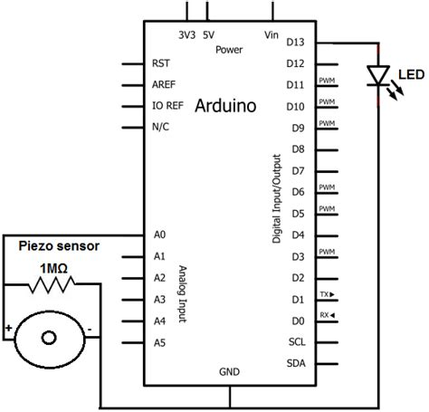 piezoelectric sensor circuit diagram how to build a piezo knock sensor circuit